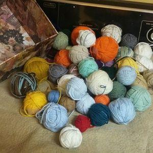 Mini balls of yarn